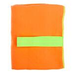 оранжевое полотенце