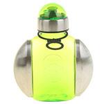 зелёная бутылочка-фляжка