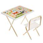 """Набор детской мебели """"Бэмби"""" складной, цвет бело-бежевый"""