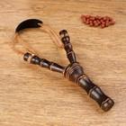 Рогатка, двойной резиновый жгут, деревянная, 19х11 см,