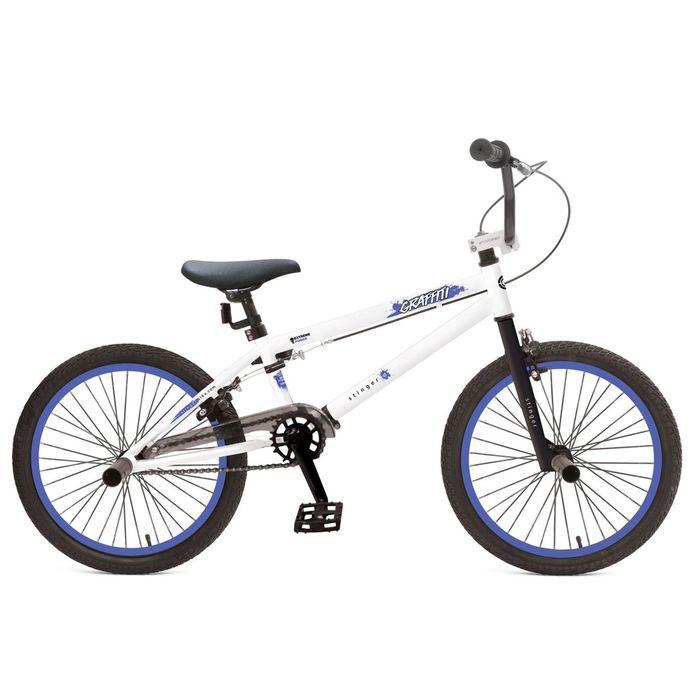 Велосипед 20 Stinger BMX Graffiti, 2017, цвет белый, размер 10