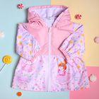 """Куртка для девочки Collorista """"Принцесса"""", рост 74-80 см (26), 9-12 мес + рюкзак"""
