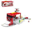 Гараж-трансформер «Пожарная станция»