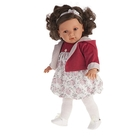 """Кукла """"Аделина"""" в красном"""