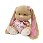 """Мягкая игрушка """"Зайка Лин"""" с сердцем, 25 см"""