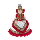 """Авторская сувенирная кукла на чайник """"Машенька в белом платье"""""""