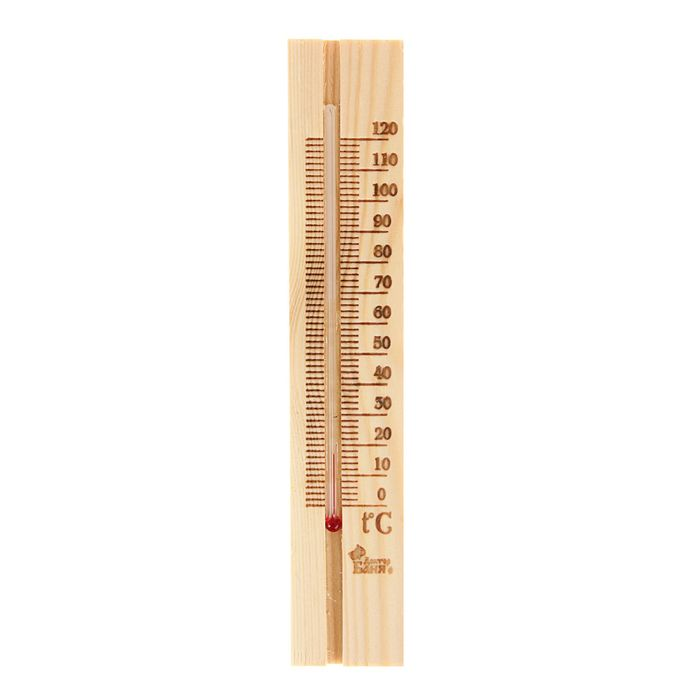 Деревянный термометр сауна малый,
