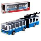 Автобус/троллейбус с резинкой 12см, МИКС