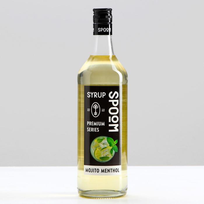 Сироп-наполнитель мохито ментол ТМ Spoom, 1 л