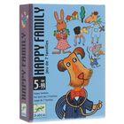 Детская настольная карточная игра «Счастливая семейка»