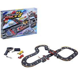 """Автотрек """"Спортивные гонки"""", работает от батареек, трек 160*125, длина 480 см"""