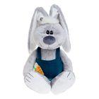 Мягкая игрушка «Заяц Стёпка», цвет серый