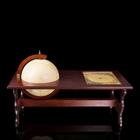 Журнальный столик с глобус-баром, d 40 см