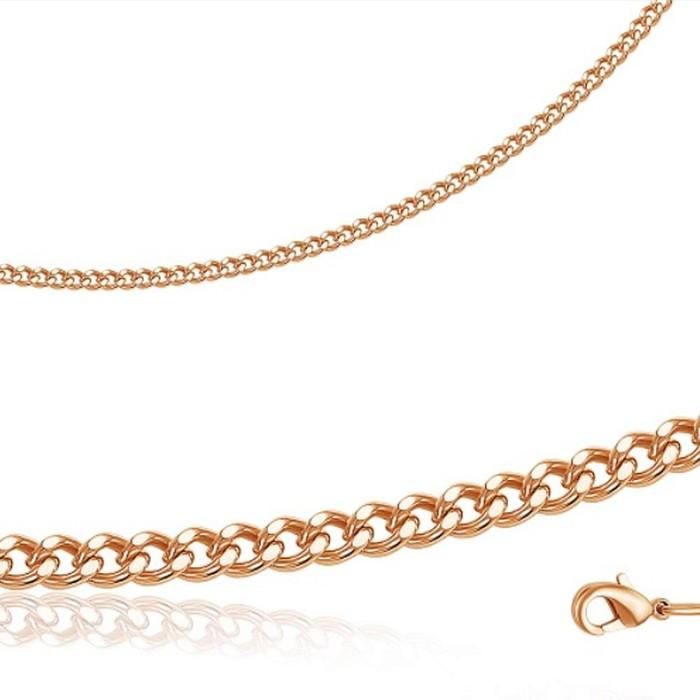 Браслет Панцирное плетение позолота МПГ12-18р