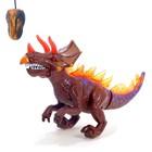 Динозавр радиоуправляемый T-Rex, световые и звуковые эффекты, работает от батареек