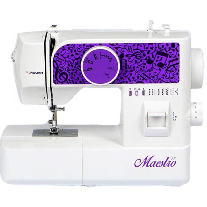 Швейная машина Jaguar Maestro17, 9 операций, потайная, эластичная строчка
