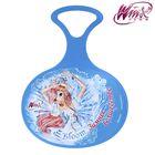 "Ледянка ""Зимнее волшебство"", Феи ВИНКС: Блум, 310 х 410 х 4 мм, цвет голубой"