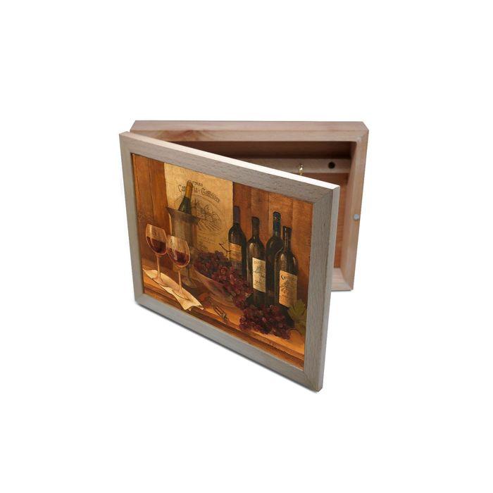 Ключница из бука Винтажные вина
