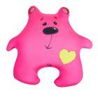 """Мягкая игрушка-антистресс """"Медведь Милашка"""", цвет розовый"""
