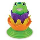 Игрушка для ванной «Лягушка-принцесса», от 18 мес., цвета МИКС