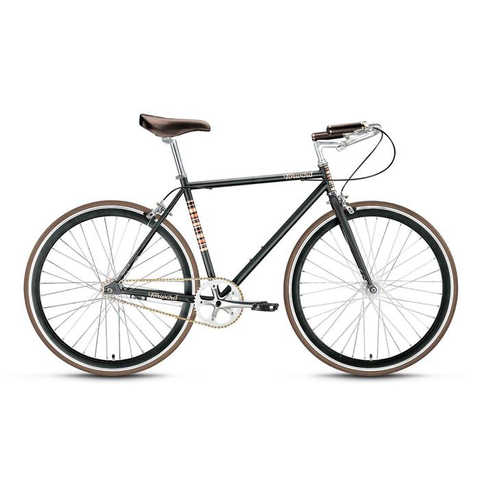 Велосипед 28 Forward Indie 1.0, 2016, цвет чёрный, размер 19,5