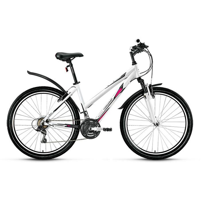 Велосипед 26 Forward Jade 1.0, 2016, цвет белый/сер.мат., размер 15