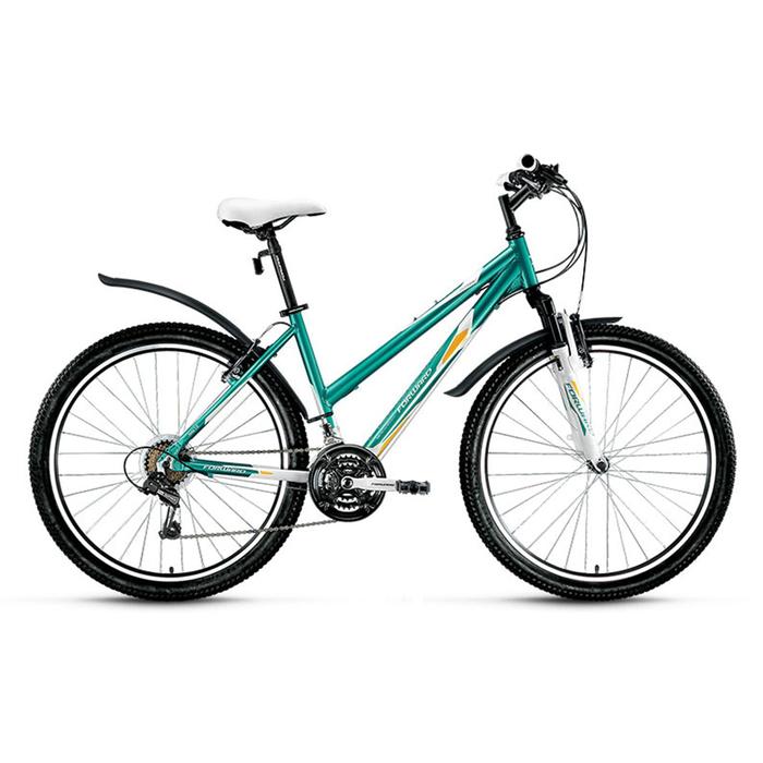 Велосипед 26 Forward Jade 1.0, 2016, цвет бирюзовый/белый, размер 15