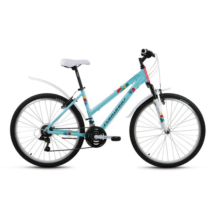 Велосипед 26 Forward Seido 26 1.0, 2017, цвет зелёный, размер 15