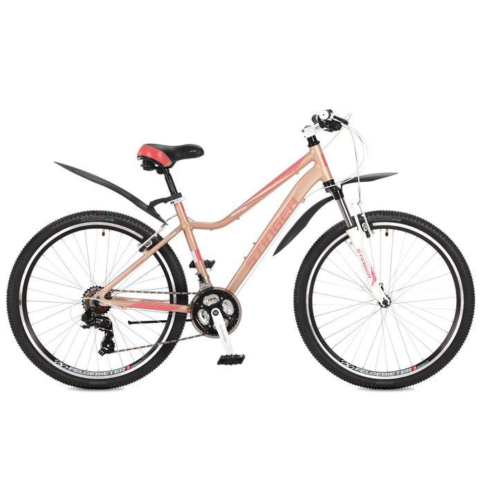 Велосипед 26 Stinger Vesta, 2017, цвет розовый, размер 17