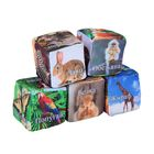 """Мягкая игрушка-антистресс """"Кубики Животные"""" набор, 8 см"""