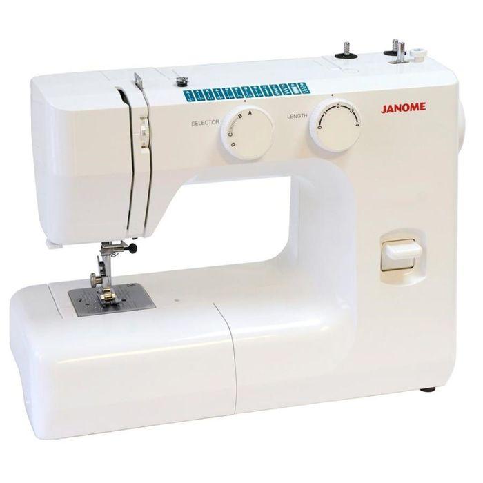 Швейная машина Janome SK13, 3 операций, обметочная, эластичная строчка
