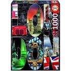 Пазл 1000 деталей Лондон, коллаж