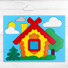 Головоломка «Собери картинку: домик» 17 элементов