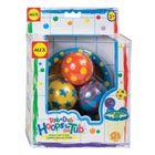 """Игрушки для ванны """"Мячики в сетке"""", 4 пр., от 2 лет"""