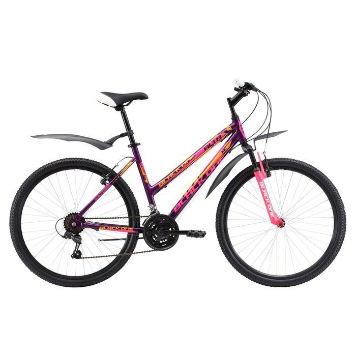 Велосипед 26 Black One Alta Alloy, 2017, цвет фиолетово-розовый, размер 16''