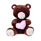 """Мягкая игрушка """"Мишка Влюблённый"""", цвет коричневый, 22 см"""