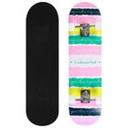 Скейтборд 3108YH, 79х20 см, колёса PU d=5 см, ABEC 7, алюминиевая рама, цвет МИКС