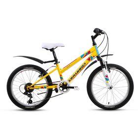 "Велосипед 20"" Forward Iris, 2017, цвет жёлтый, размер 10,5"""