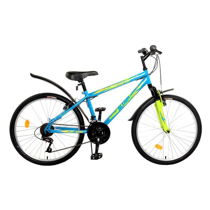 Велосипед 24 Altair MTB HT Junior 24, 2017, цвет синий, размер 14