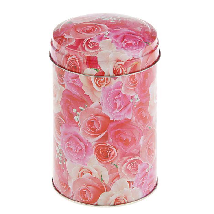 Подарочная коробка Розы, 9,9 х 9,9 х 14,6 см