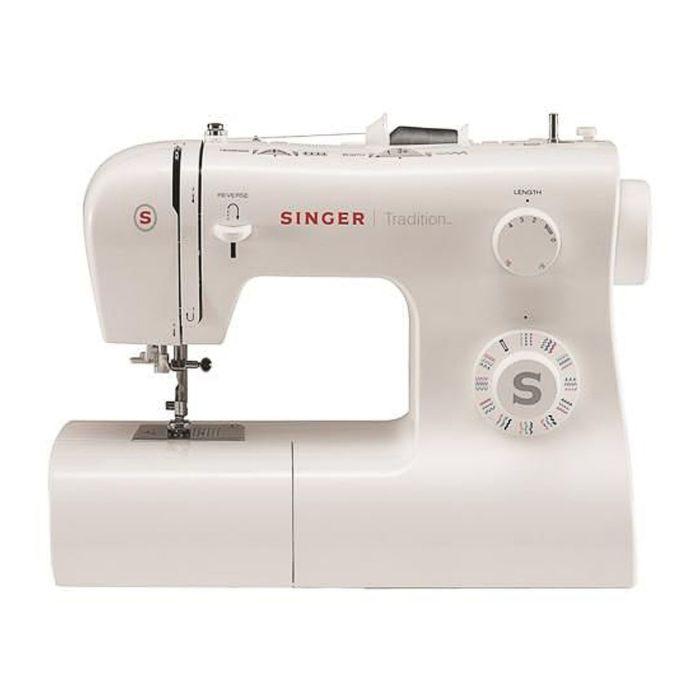 Швейная машина Singer Tradition 2282, 34 опер, обметочная, эластичная, потайная строчка, белый   239