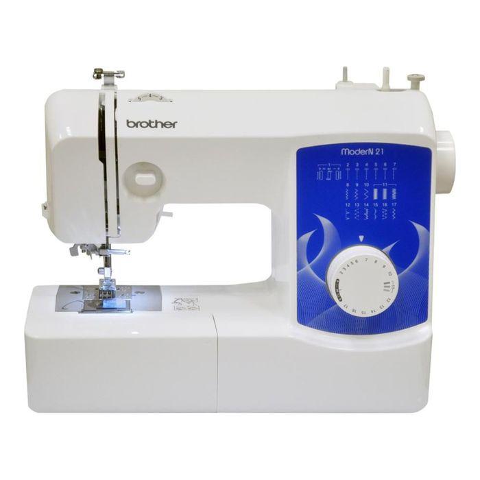 Швейная машина Brother ModerN 21, 16 опер, обметочная, эластичная, потайная строчка, белый
