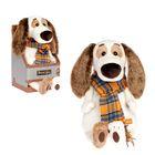 """Мягкая игрушка """"Бартоломей в шарфе"""", 33 см"""