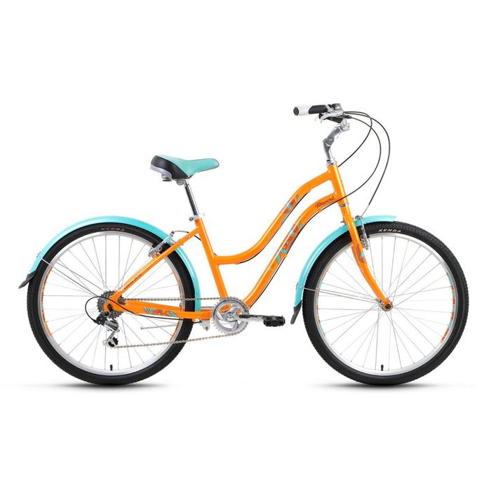Велосипед 26 Forward Evia Air 1.0, 2017, цвет желтый, размер 16