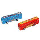 Автобус инерционный «Междугородний», набор 2 шт, в пакете