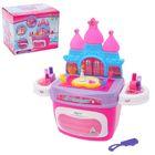 """Игровой модуль """"Замок принцессы"""" с аксессуарами в чемодане, световые и звуковые эффекты"""