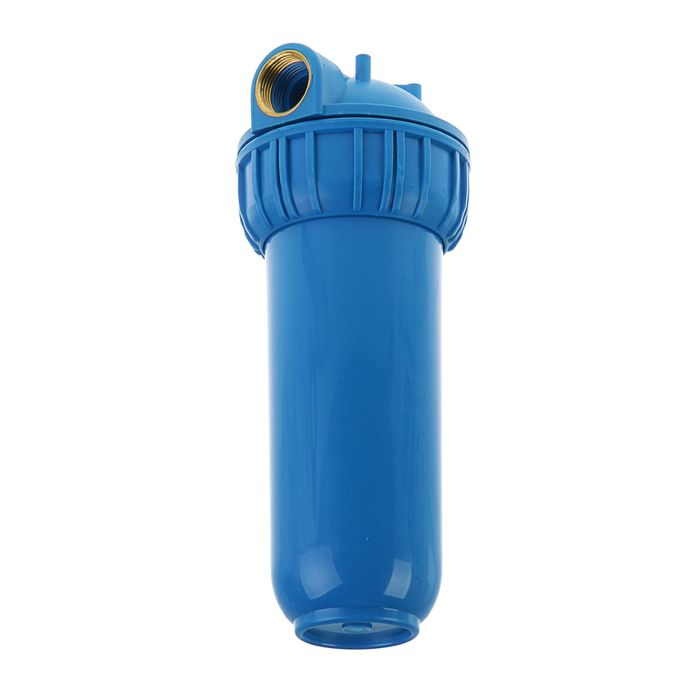 Корпус для фильтра Нептун BP-15, внутренняя резьба, 1, синий