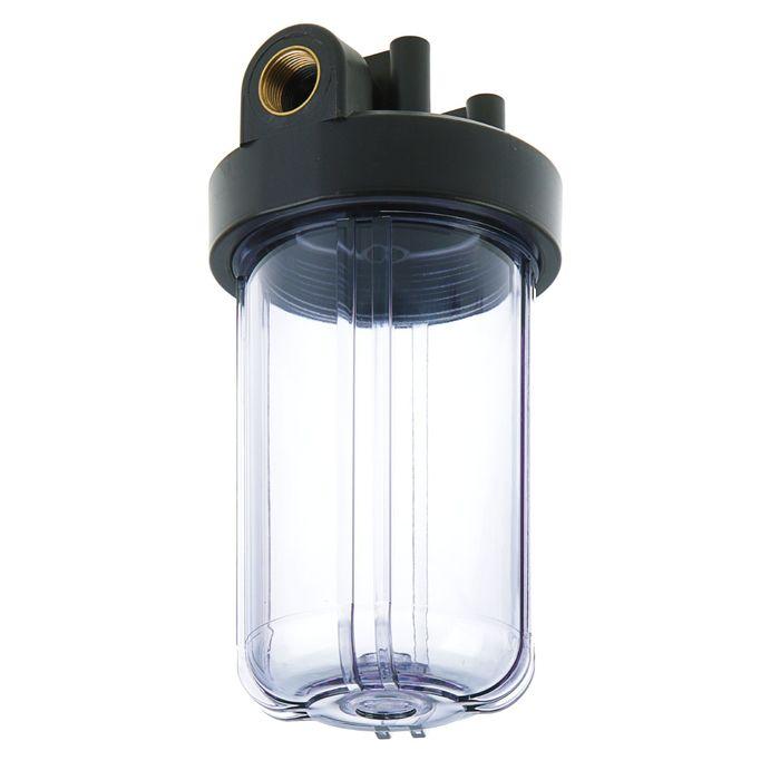 Корпус для фильтра Нептун BP-30, внутренняя резьба, 1, прозрачный