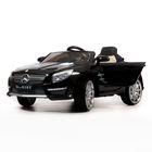 Электромобиль BARTY Mercedes-Benz SL63 AMG (Чёрный,Глянцевый)