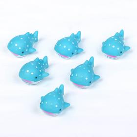 Набор для игры в ванне «Кашалот», 6 шт., цвета МИКС